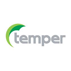 Página web de Temper